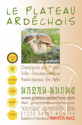 ard che champignons secs boutique en ligne de vente de champignons secs vente achat de. Black Bedroom Furniture Sets. Home Design Ideas